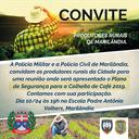 Convite para os produtores rurais de Marilândia