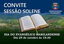 Convite sessão solene